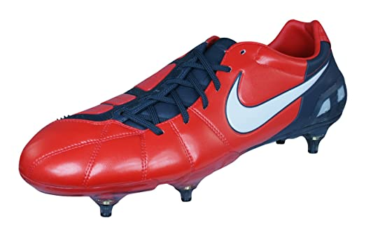 wholesale dealer 120c5 f940d Nike Total 90 Laser III SG Mens Soccer Boots Cleats-Red-7