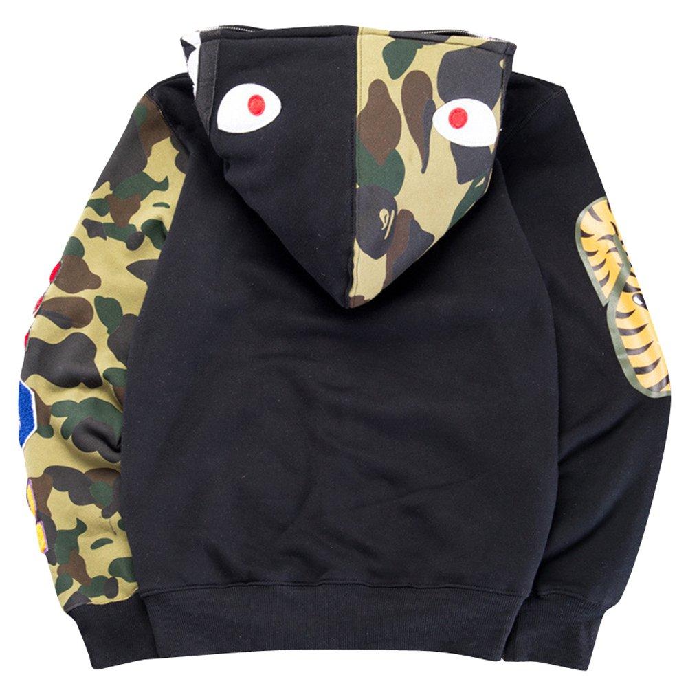 Christo Mens Hoodies Sweatshirt Fashion Casual Coat Outdoor Hip-Hop Funny Tops Gxxu-170