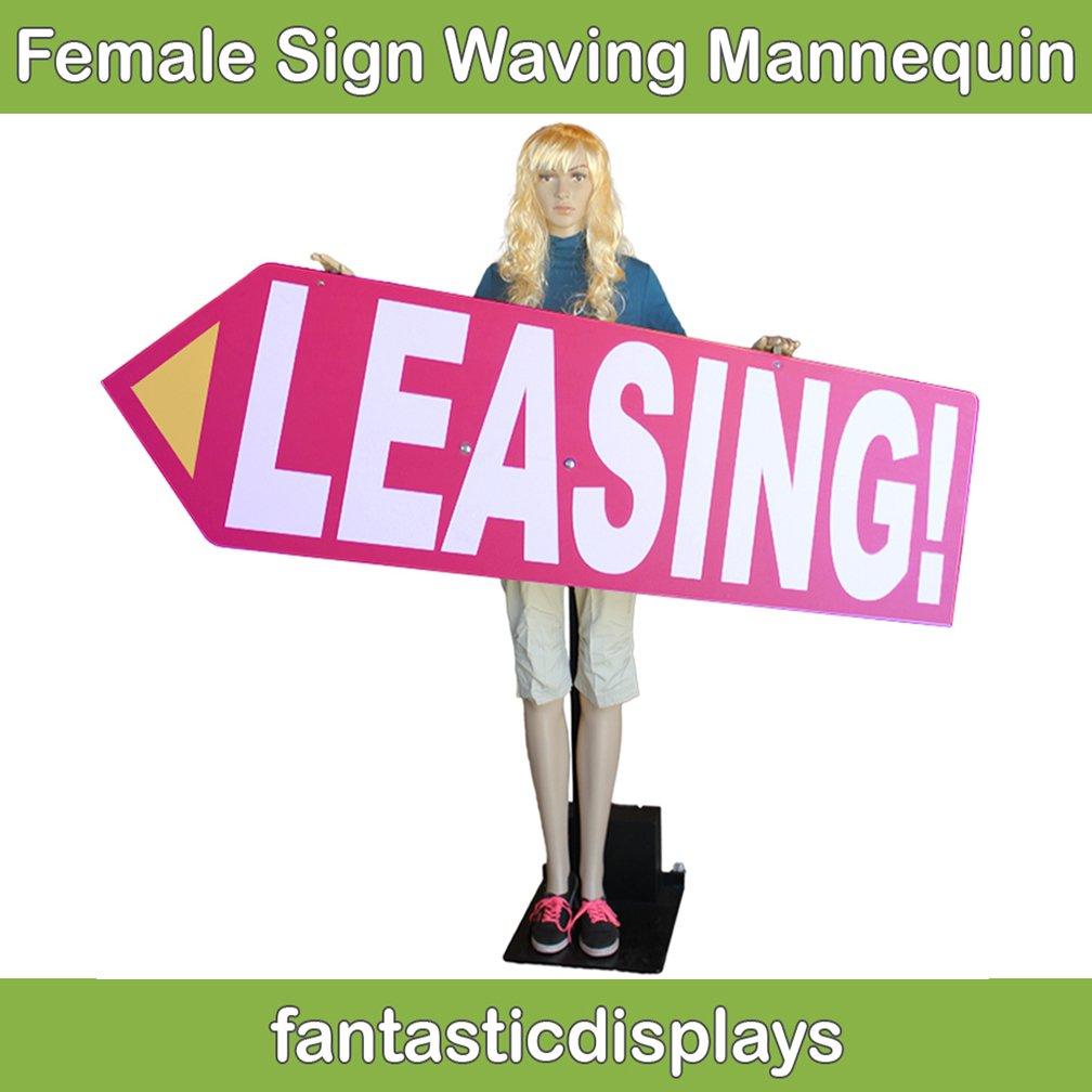 Fantastic Displays Arrow Spinner Sign Waving Robot Mannequin HARDWARE