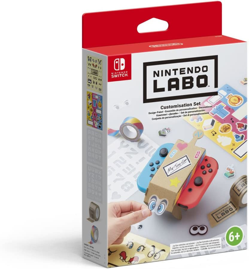 Switch Nintendo Labo - Set de personalización: Amazon.es: Videojuegos