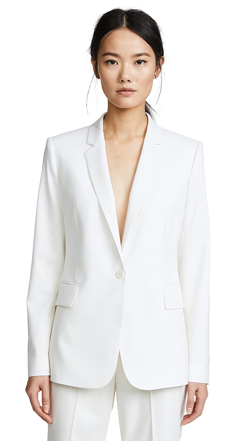 Theory Womens Classic One Button Essential Jacket