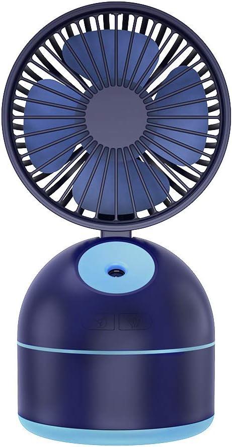YLJYJ Mini Ventilador USB Fan Nebulizador, Mesa Enfriador Portatil ...