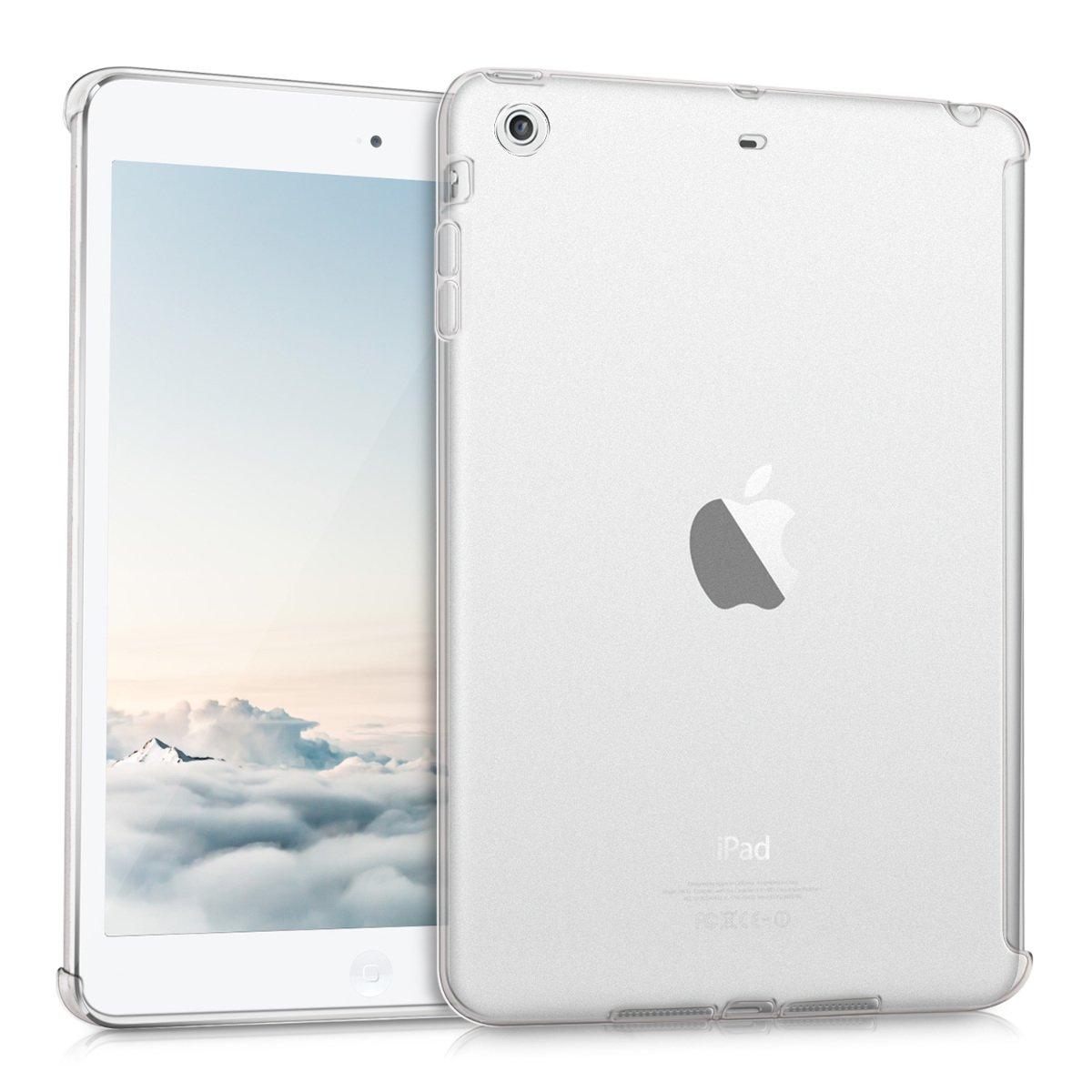 kwmobile Funda inteligente para Apple iPad Mini 2 / iPad Mini 3 - Carcasa trasera de TPU para tablet en transparente mate
