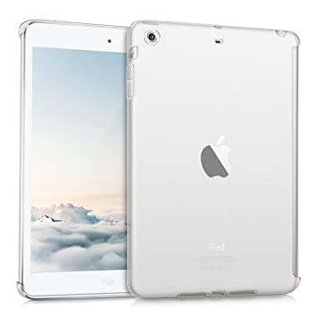 kwmobile Funda inteligente para Apple iPad Mini 2 / iPad Mini 3 - Carcasa trasera de TPU para tablet en transparente mate