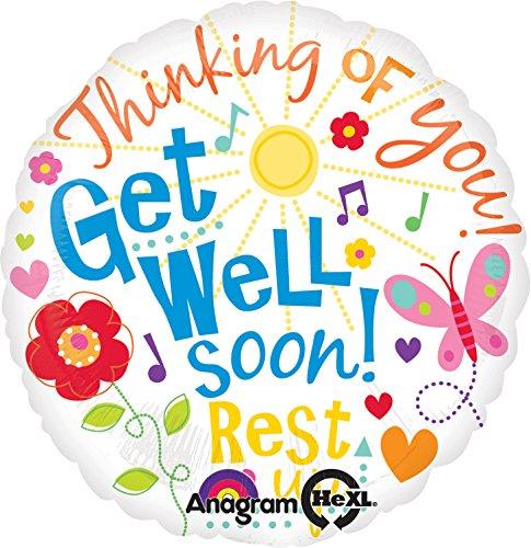 Get Well Balloon (Anagram International Get Well Messages Balloon, 18
