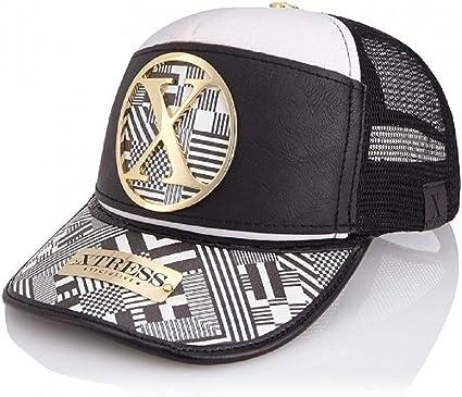 Gorra de diseño blanca y negra para hombre y mujer.: Amazon.es ...