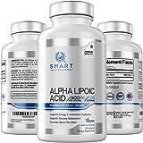 Alpha Lipoic Acid 600mg Per Serving, 240 Vegan Capsules- Pharmaceutical Grade, Gluten Free, Pure Non-GMO ALA- Supports Health