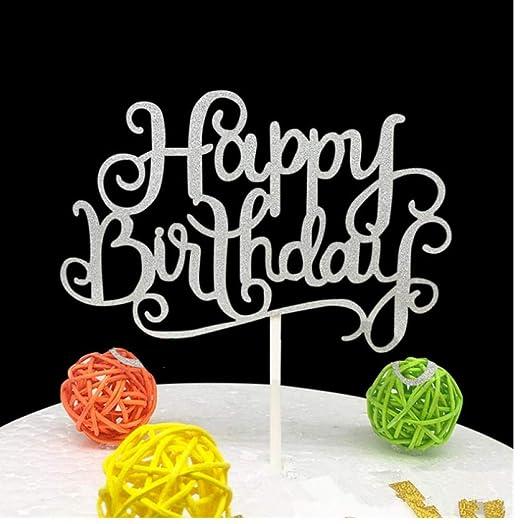 PiniceCore Suministros Torta del Feliz cumpleaños del ...