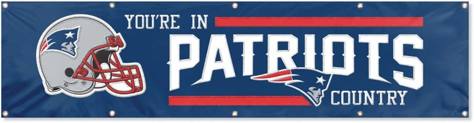 Party Animal Officially Licensed 8'x2' NFL Banner