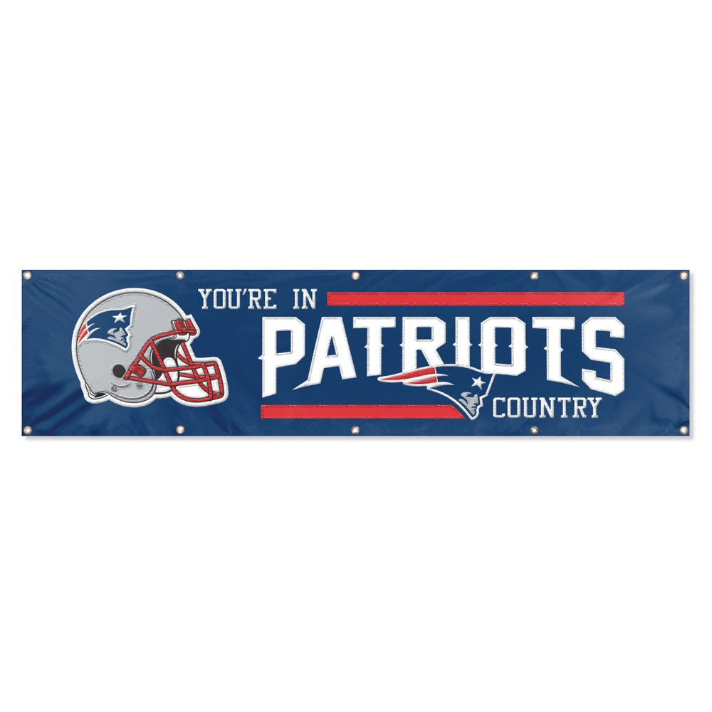 Party Animal New England Patriots 8'x2' NFL Banner