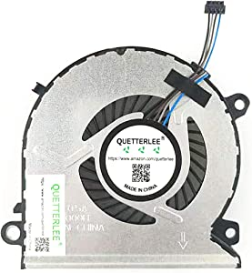 QUETTERLEE Replacement New Cpu cooling Fan for HP Pavilion Power 15-CB 15-CB076TX 15-CB000 15-CB077CL 15-CB011TX 15-CB009TX 15-CB010TX 15-CB009TX 15-CB075TX 15-CB074TX 15-CB073TX Series 930589-001 FAN