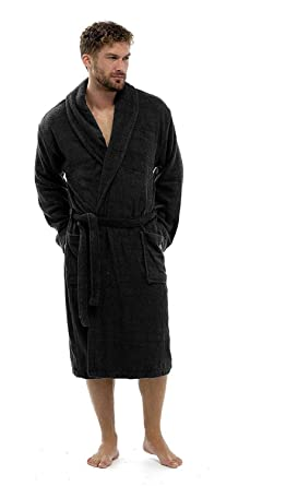 Keanu Mens 100% Cotton Robe Luxury Terry Towelling Bath Robe Dressing Gown  Housecoat Belt - Sizes UK S M L XL  Amazon.co.uk  Clothing eaa96ac74