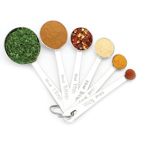 Amazon.com: Cucharas Medidoras diseño de cuchara de acero ...