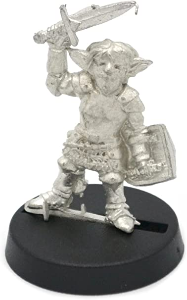 for 28mm Scale Table Top War Games Stonehaven Halfling Death Knight Miniature Figure Made in USA