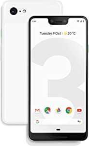 Google - Pixel 3 XL with 128GB Memory Cell Phone (Unlocked) - Clearly White