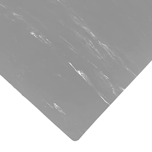 Industrial and Scientific Janitorial Sanitation Supplies Floor Mats Matting Rectangular anti-fatigue floor mat has gray marble pattern and can be placed in dry workspaces for support while standin
