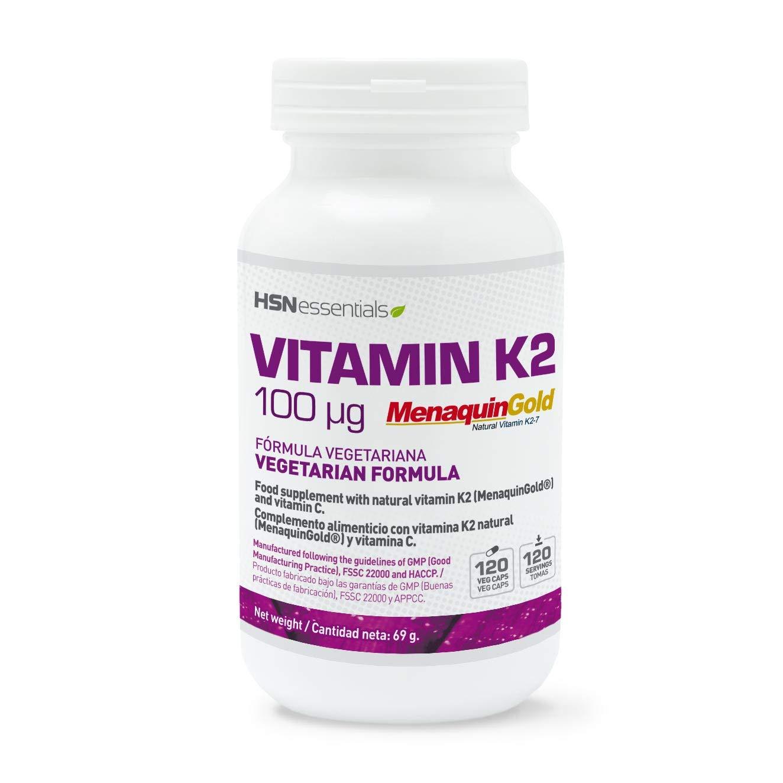 VITAMINA K2 100mcg - 120 veg caps: Amazon.es: Salud y cuidado personal