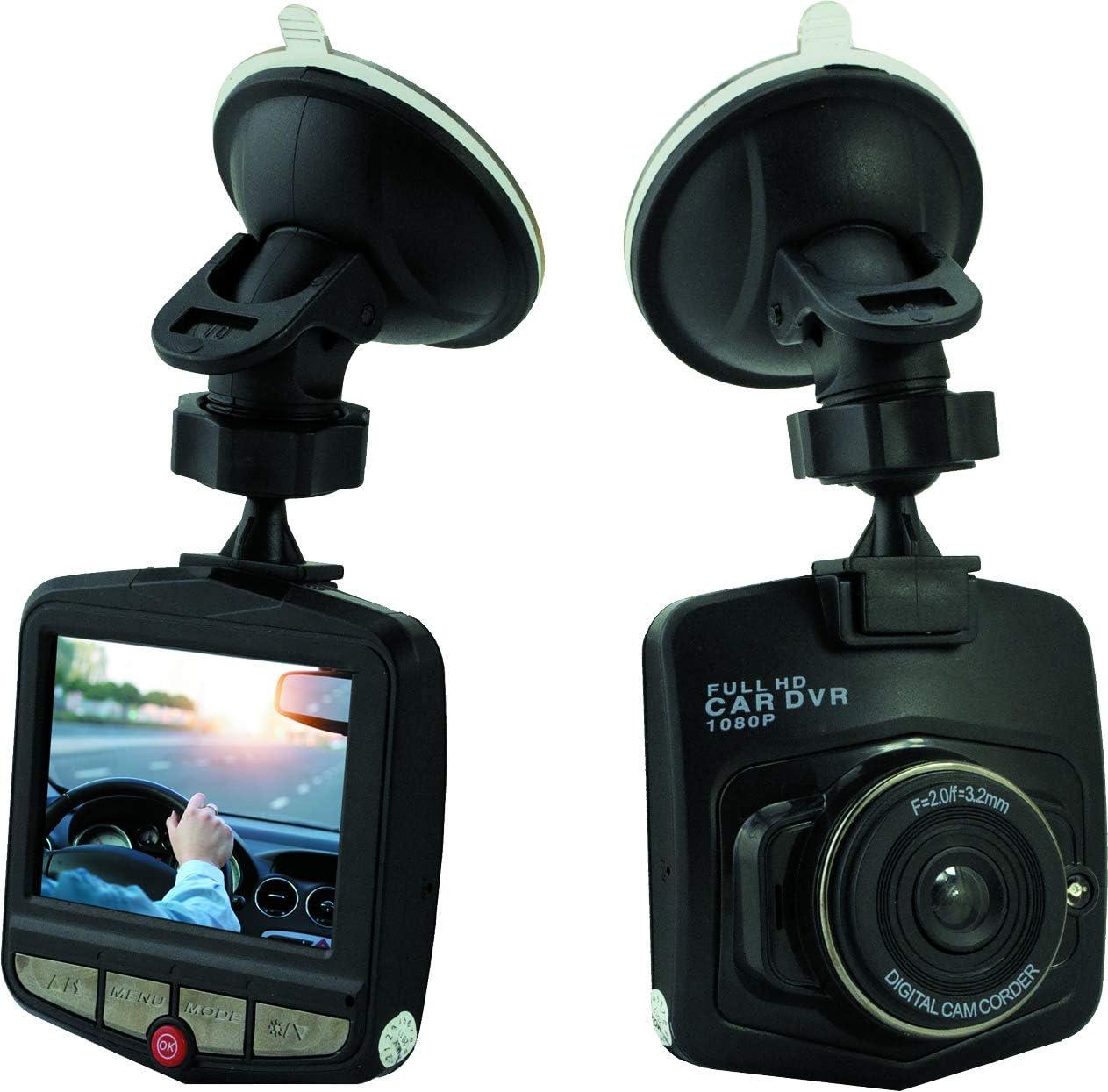 Denver Electronics Dv 20901 Cct 1210 Hd Dashcam Mit 2 4 Zoll Lcd Display Baumarkt