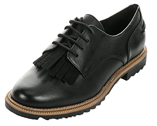 30a4a9afb27 Clarks Womens Griffin Mabel Leather Shoes: Amazon.ca: Shoes & Handbags