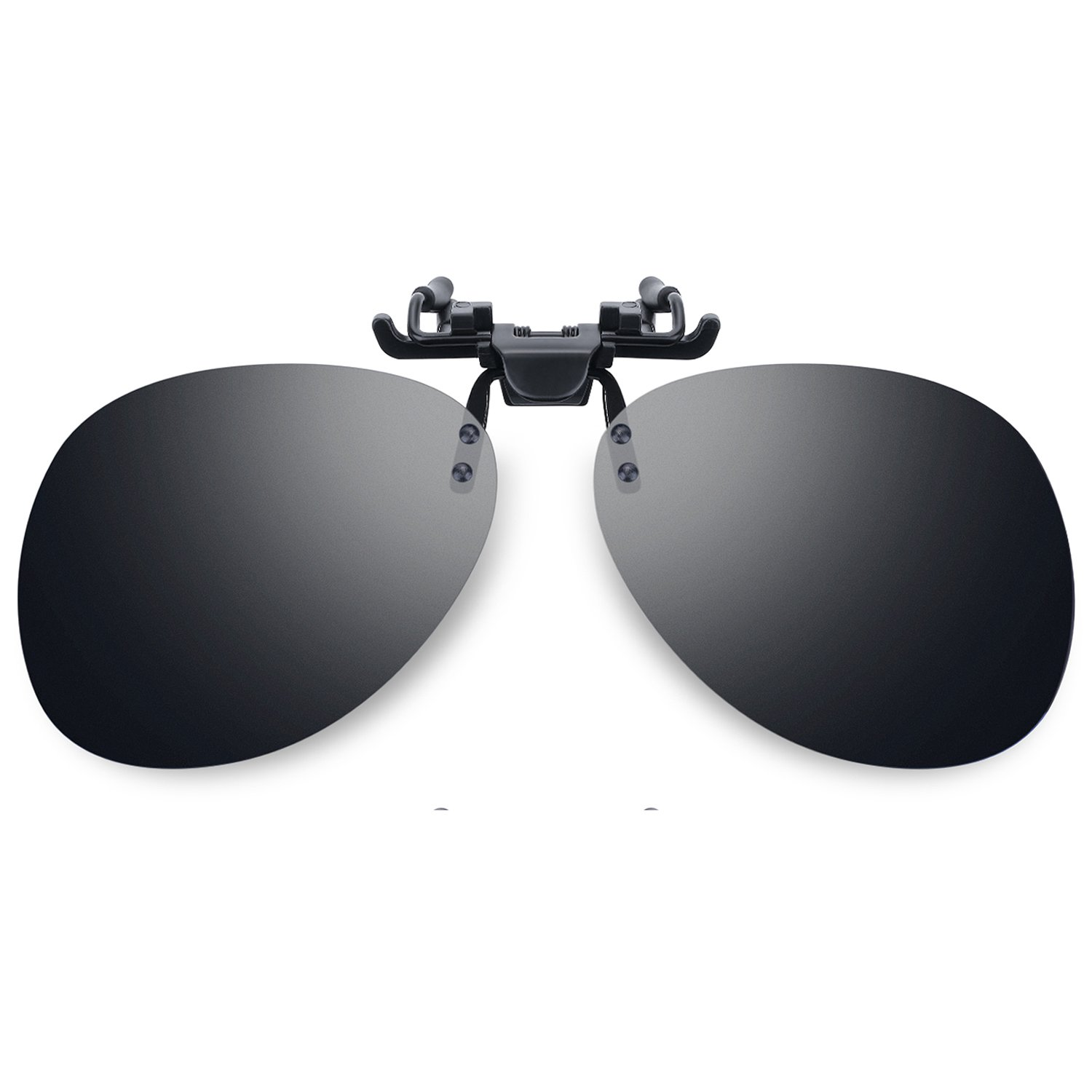 76ea5759be0 Amazon.com  Besgoods Polarized Clip-on Flip up Sunglasses Sports Driving  Outdoors