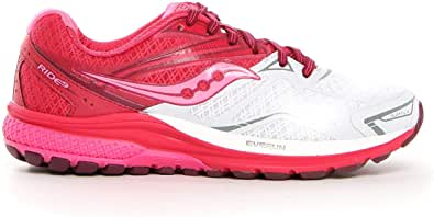 Saucony Running Shoes for Women, Size 5.5 US, White & Pink - S10318-6