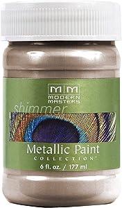 Modern Masters ME221-06 Metallic Warm Silver, 6-Ounce