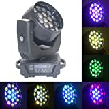 Boulder Pro 19x15W Zoom Beam Wash Moving Head Light for Stage Lighting Effect with RGBW 4in1 LED and Dmx Control Dj…