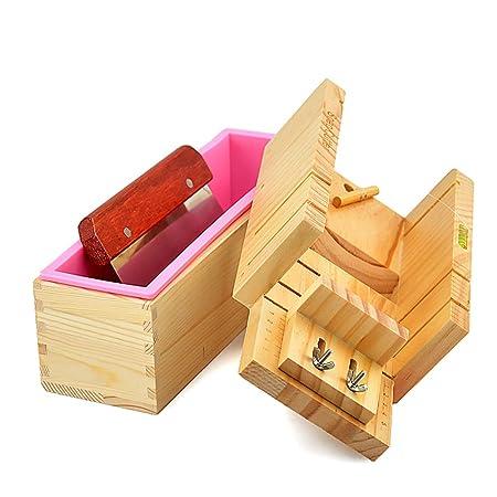 RoseFlower 3 Stück DIY Seifen Silikonform Set, 10.71
