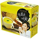 DAMTUH Instant Sweet Pumpkin and Yam Powder Tea, Meal Replacement Breakfast for Proteins and Energy, Single Serve 15 Sticks