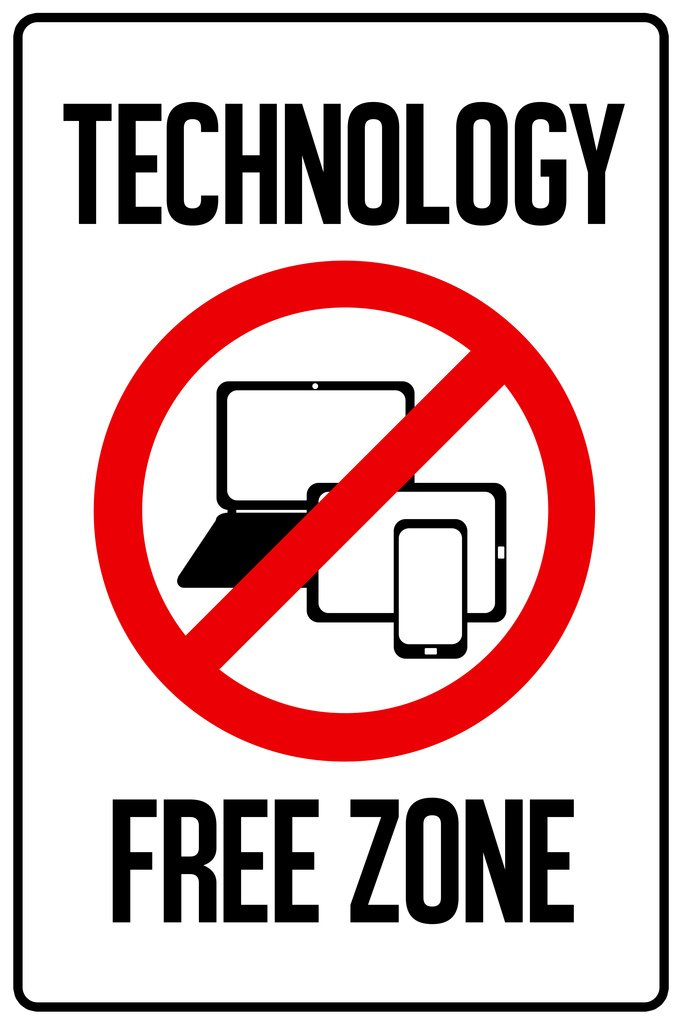 Technology Free Zone