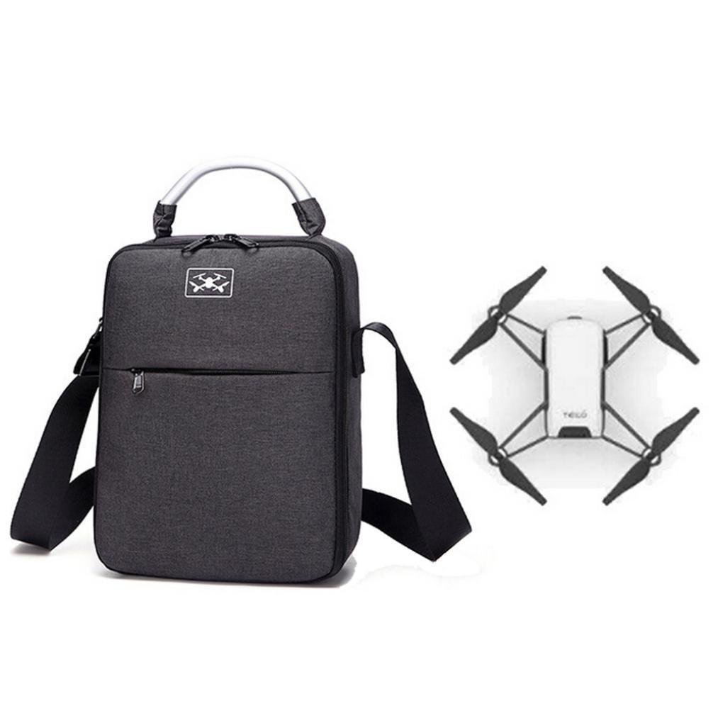 Diadia - Bolso bandolera portátil para DJI Tello Drone, impermeable EVA + Oxford, bolso de cuerpo/batería, funda de transporte, funda protectora para el hombro