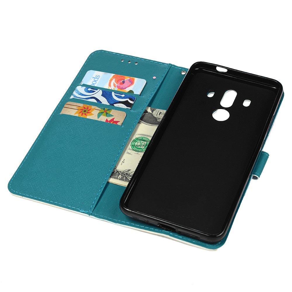 YOKIRIN Case para Huawei Mate 10 Pro móvil Technik piel funda PU ...