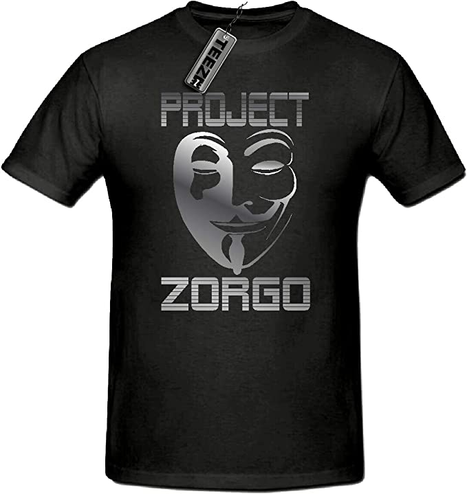 Kids Project Zorgo Chad Wild Clay T-Shirt Youtuber Childrens Gaming CWC Tee