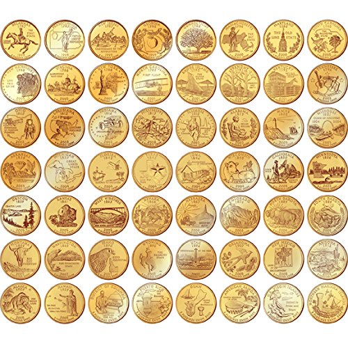 Scintillating 1999 Gold Plated Coin Set Contemporary - Best Image ... Scintillating 1999 Gold Plated Coin Set Contemporary Best Image  sc 1 st  Best Image Engine & Breathtaking Gold Plated State Quarters Contemporary - Best Image ...