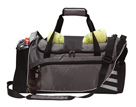 a18748424c2c Image Unavailable. Image not available for. Color  Travelwell Fitness Carry  on Sport Travel Gym Duffel Bag with Cooler