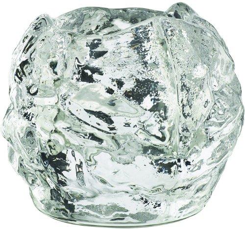 Kosta Boda Luce votiva in vetro a forma di palla di neve 70 67800