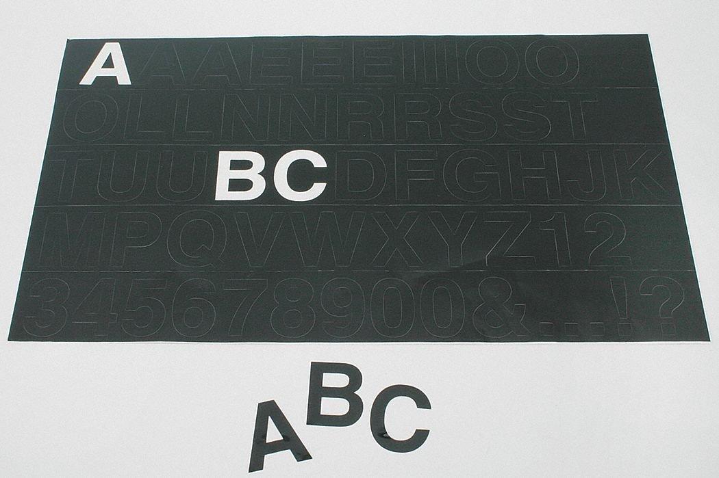 完成品 Assorted, Assorted, 1 Black, Character 1-5/8