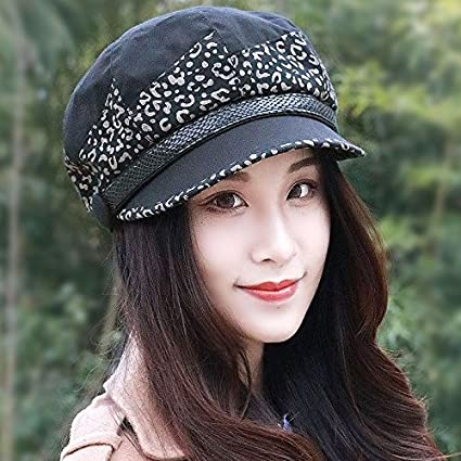 ZHANGYONG Sombreros elegantes marea hembra 8 hat pintor pac beret tocados  moda ocio tapa de 7352db2f80e