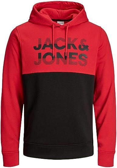 Jack /& Jones Jcomilla Sweat Hood Sudadera con Capucha para Hombre