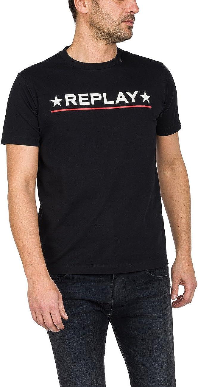 TALLA S. REPLAY Camiseta para Hombre