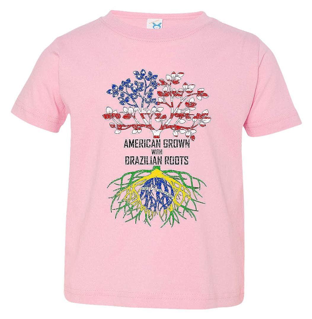 Tenacitee Babys American Grown with Brazilian Roots Shirt