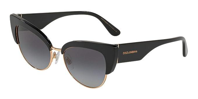Dolce & Gabbana 0DG4346 Gafas de sol, Black, 53 para Mujer ...