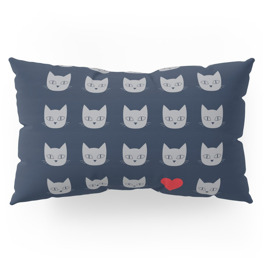 Society6 Love Cats Pillow Sham King (20'' x 36'') Set of 2