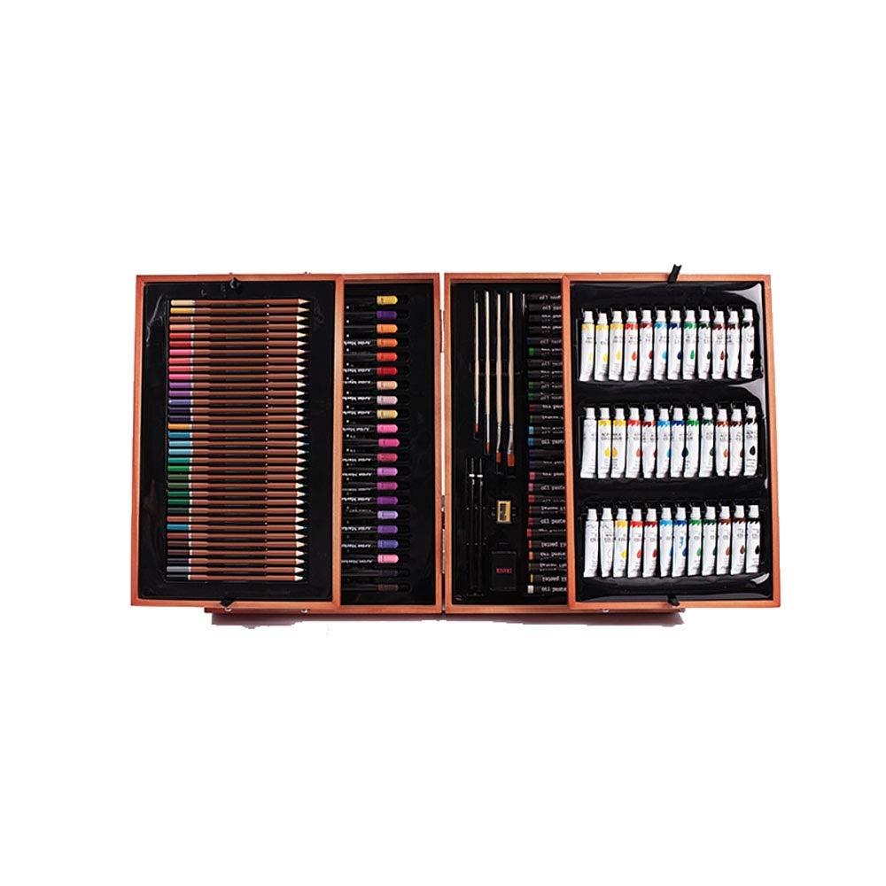 Chengzuoqing Set da coloreare Pennello da Disegno Set di pennelli Set di pennelli per Pittura a Olio Pennello per Pittura a Olio Pastelli per Scuola Set Regalo d'Arte per Bambini e Bambini