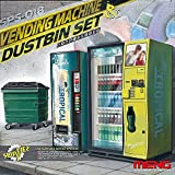 Meng Vending Machine and Dumpster Set