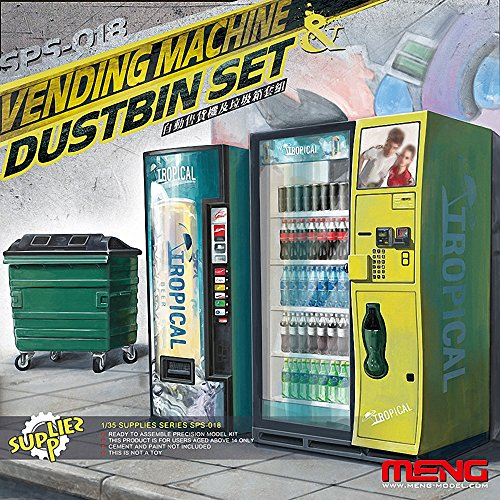 Meng Vending Machine and Dumpster