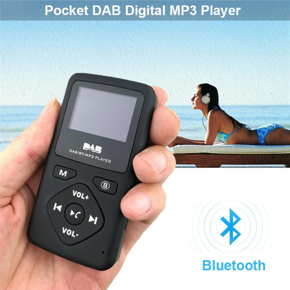 HEYJUDY Portable Bluetooth MP3 Player Digital Radio 1.8 in LCD Display Hands-Free Calling for Hiking Walking Running Sports by HEYJUDY (Image #2)
