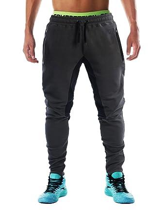 Flyfirefly Men S Gym Fashion Sport Pants Fitness Workout Running
