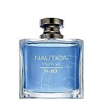 Nautica Loción para Caballero Voyage N-83 Eau de Toilette, color Azul, 100 ml