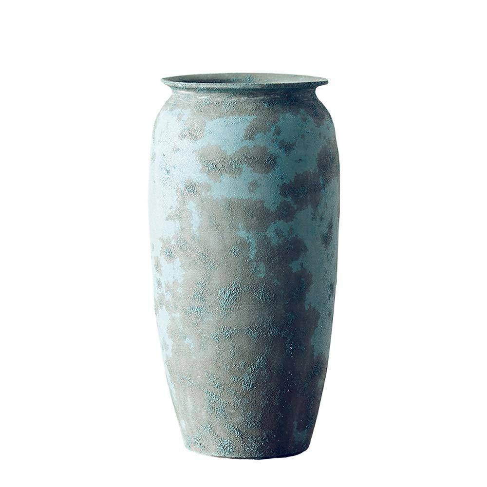 セラミック花瓶用花緑植物結婚式の植木鉢装飾ホームオフィスデスク花瓶花バスケットフロア花瓶 B07R6LB3ZB